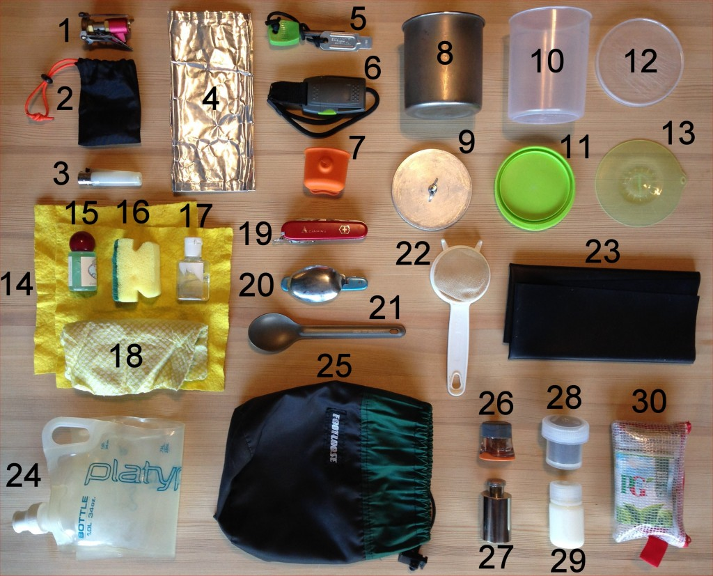 Backpacking Cooking Gear