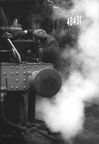 Working on the trains - Keighley & Worth Valley Railway