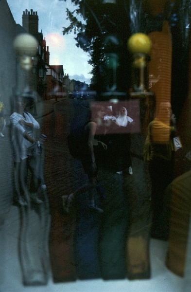 Glass Reflections - Steep Hill, Lincoln