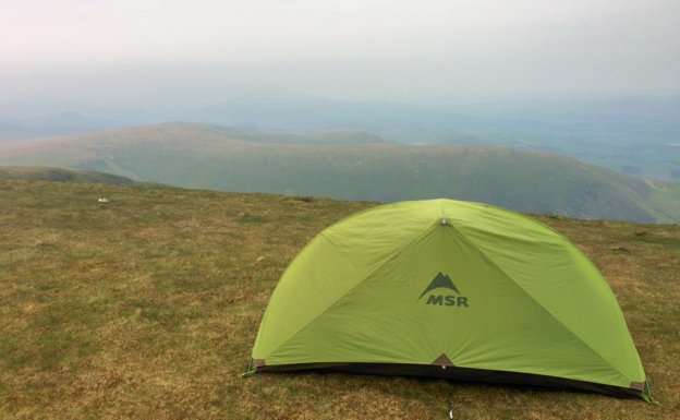 Wild Camping Black Combe