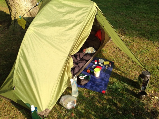 Camping at Woodhall Spa