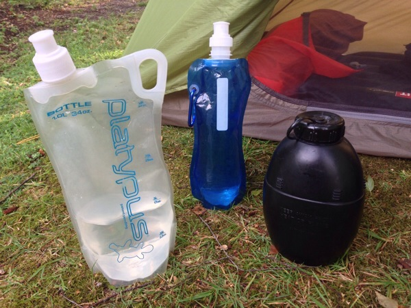 Backpacking Water