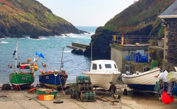 Portloe Harbour Cornwall