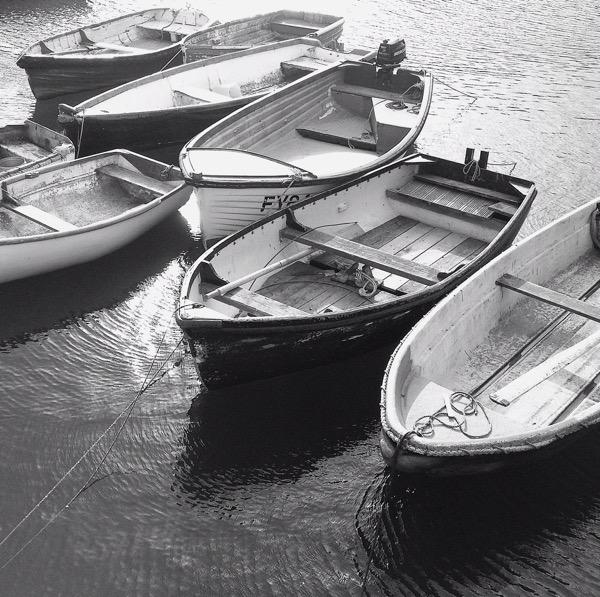 Boats - Mevagissey Cornwall