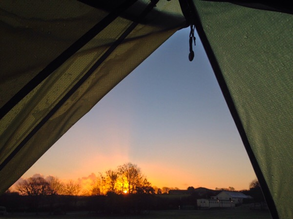 Sunrise Veryan Camping and Caravan Club Site