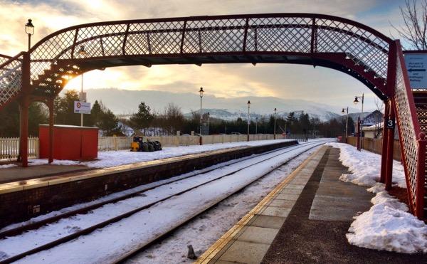 Aviemore Station Cairngorm National Park