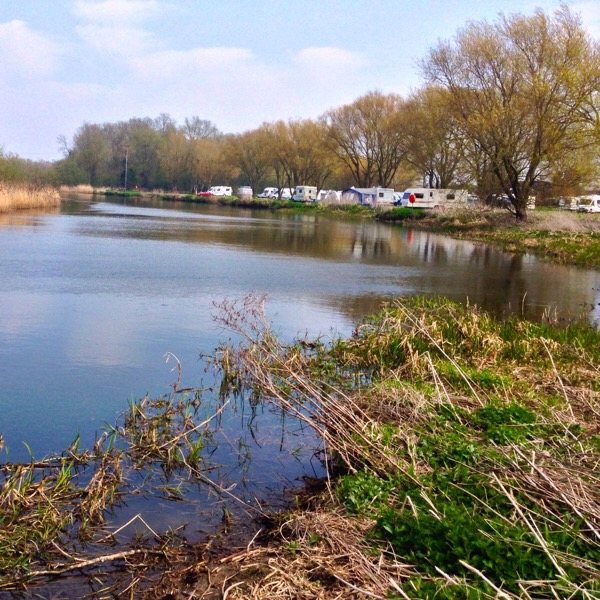 Camping and Caravan Club Site St Neots