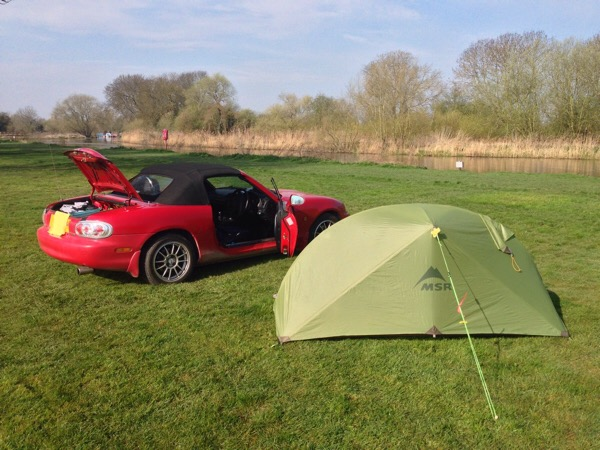Remote working Octagon Technology - St Neots Camping and Caravan Club Site