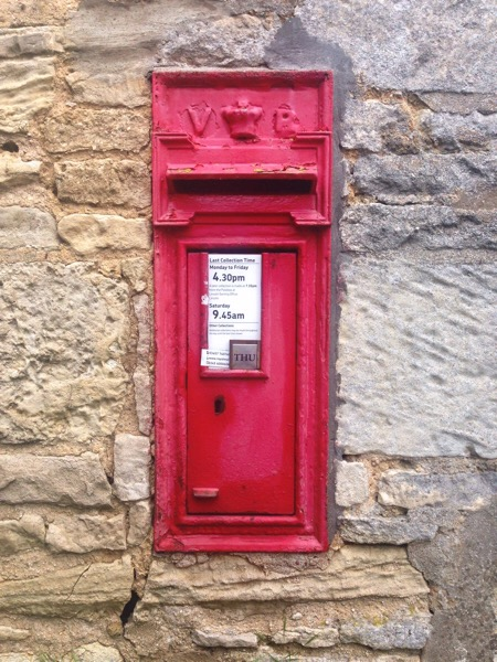 Victorian postbox Kirkby Green Lincolnshire