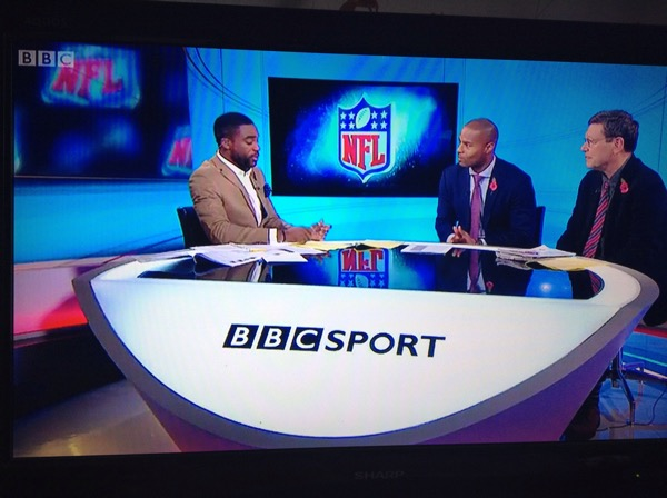 NFL live on the BBC