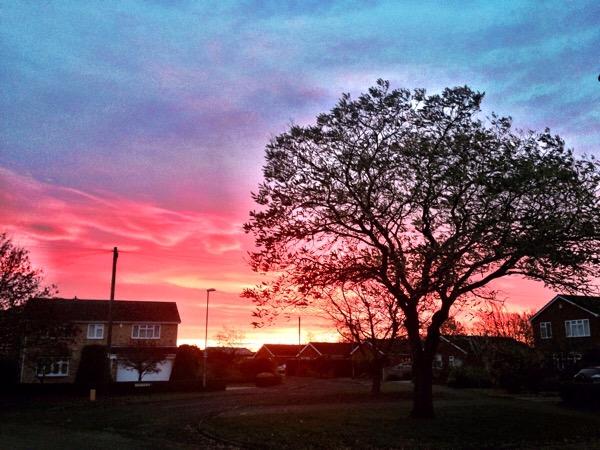 Red sky in the morning - Branston