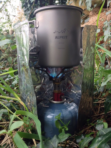 Testing the Alpkit Kraku stove with the Alpkit MytiMug 400 @Alpkit