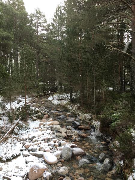 Walking to An Lochan Uaine