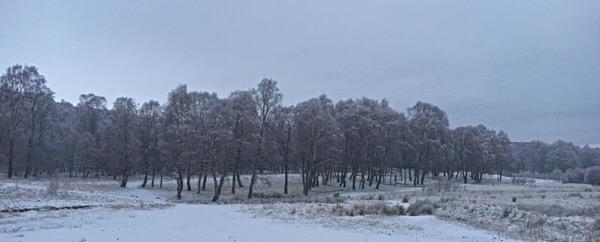 Aviemore frozen