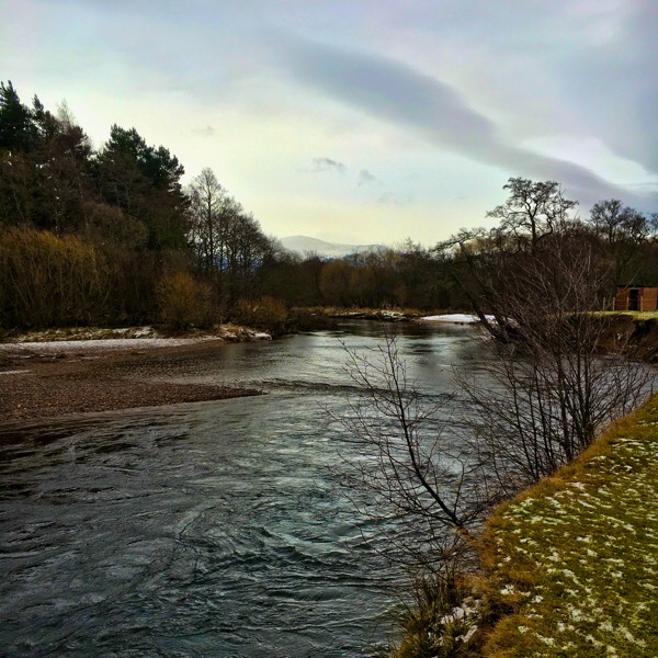 The River Spey at Aviemore