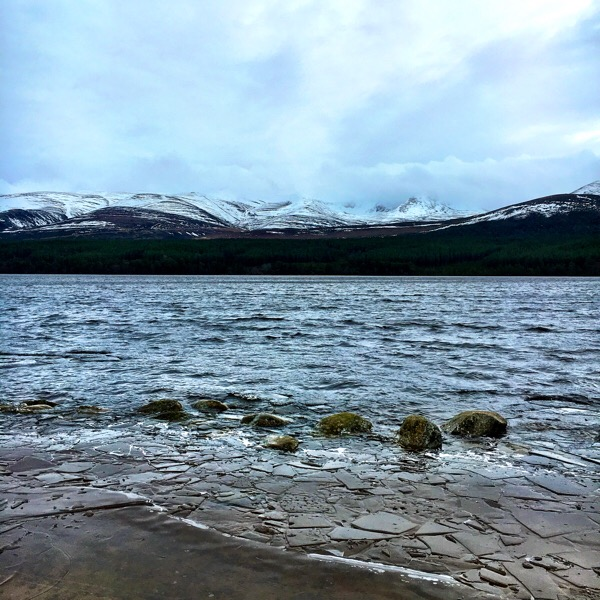 Loch Morlich and the Mountains
