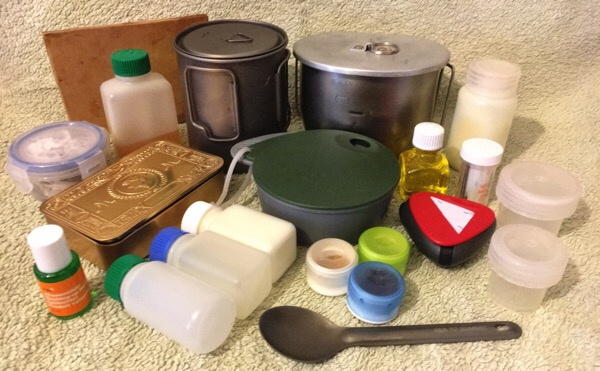 lightweight camping cooking equipment