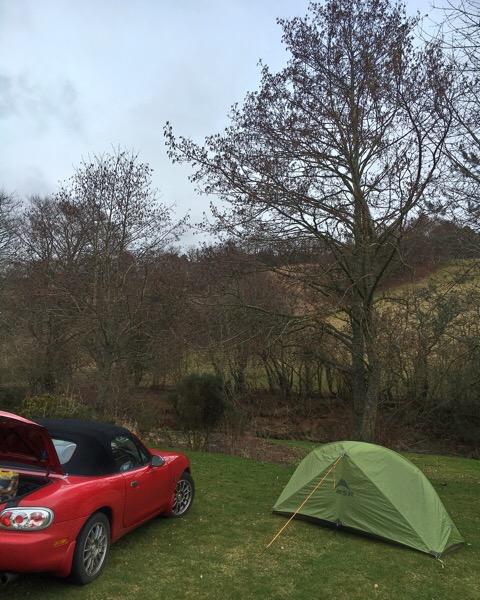 Lauder Camping and Caravan Club Site