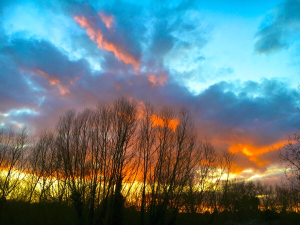 Sunset in Branston