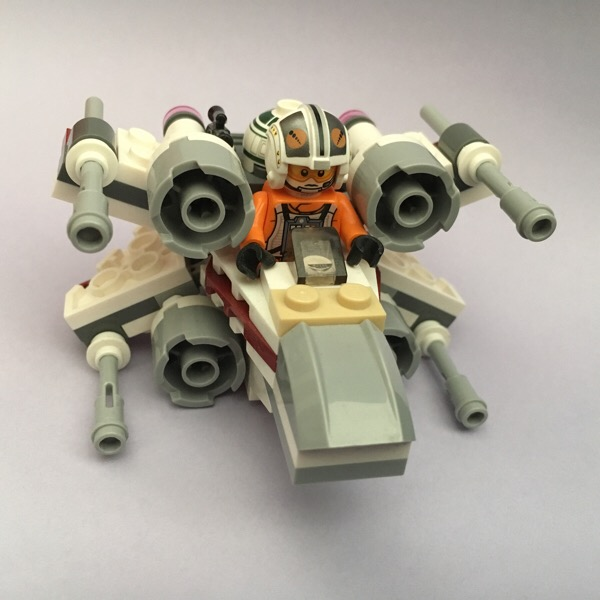 """""""May the Forth"""" Star Wars X-Wing Fighter"""