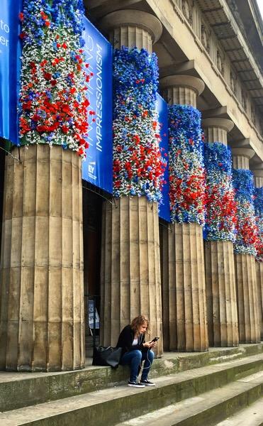 Steps and Pillars Edinburgh