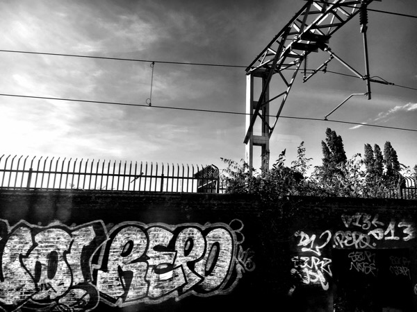 Graffiti from the train