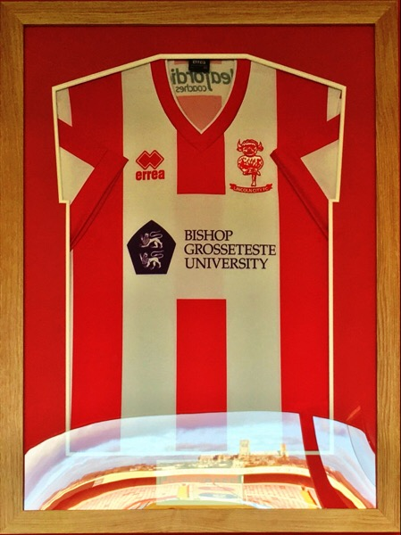 Lincoln City shirt - Lincoln Minster @LincolnCity_FC @ImpsPremierPlus @OctagonT