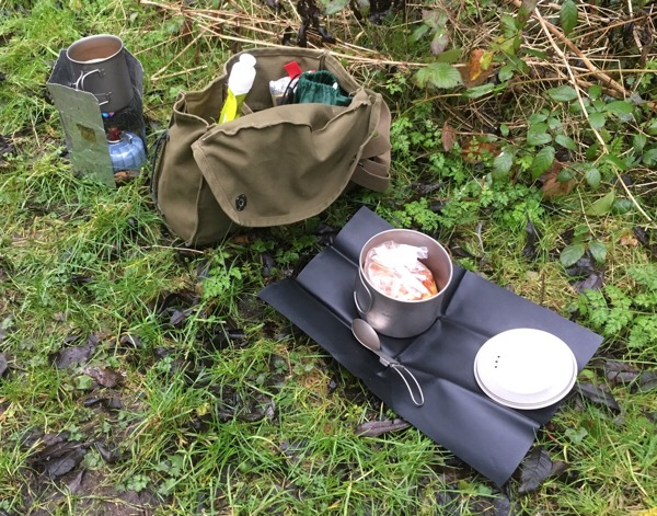 Alpkit lightweight backpacking cookware