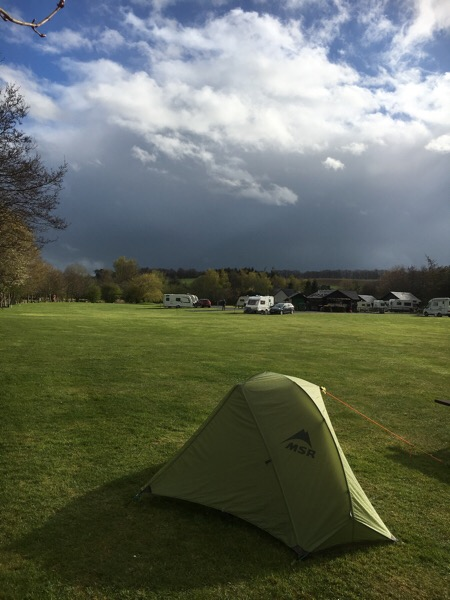 Lauder Camping and Caravan Club Site
