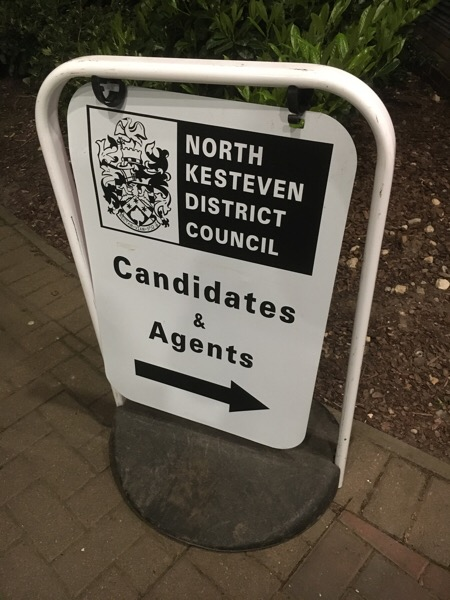 County Council Election Count