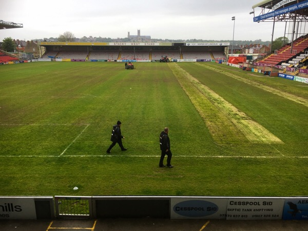 Work on the Pitch @LincolnCity_FC