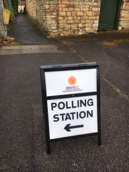 Voting today - Branston