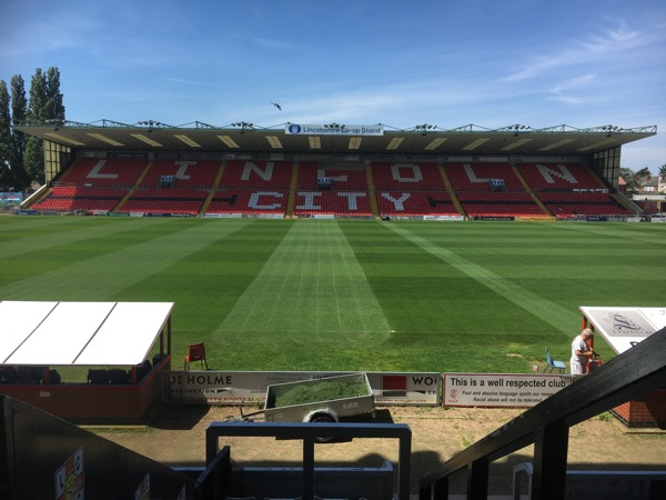 Working at Lincoln City Football Club