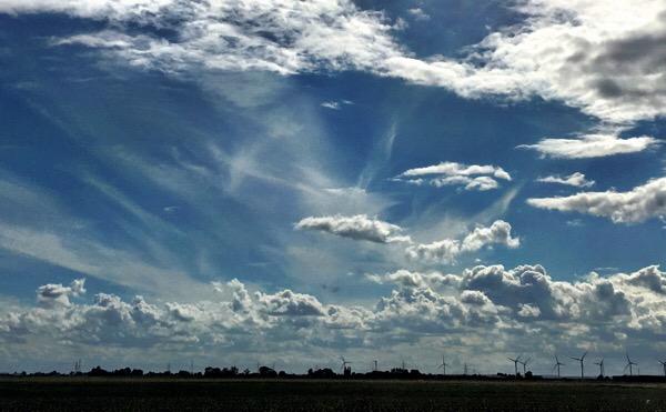 Lincolnshire sky