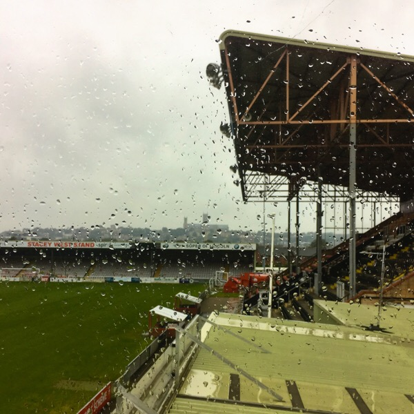 Raining - Lincoln City Football Club