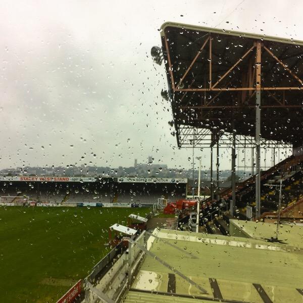 Raining - Lincoln City Football Club
