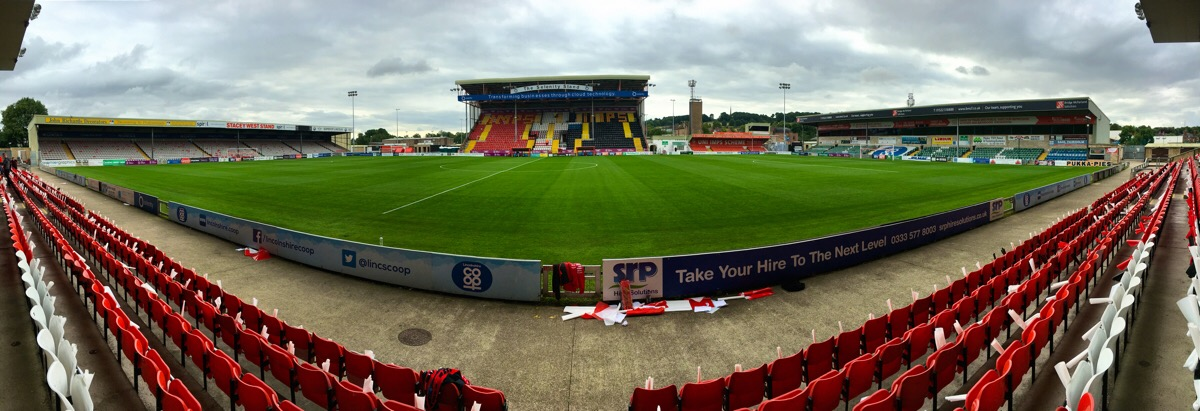Before the match Lincoln City Football Club ‪@OctagonT @LincolnCity_FC @ImpsPremierPlus