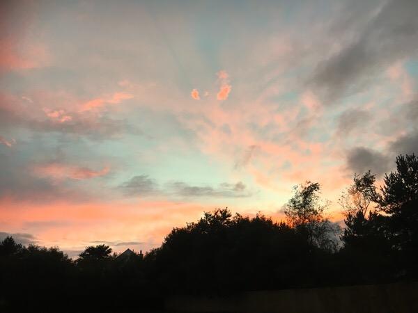 Sunset Lauder Campsite