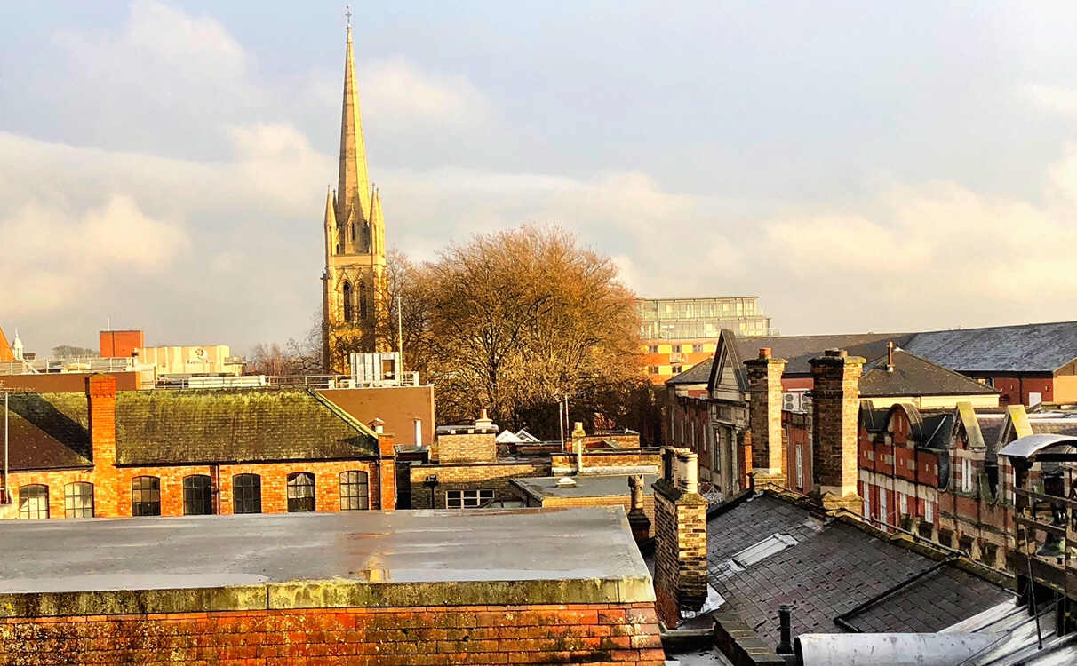 Chimneys and Steeple - Lincoln