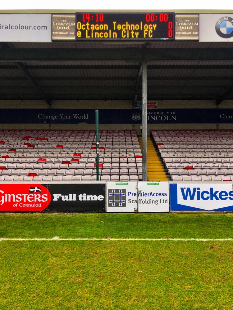 IT Support - Lincoln City FC scoreboard