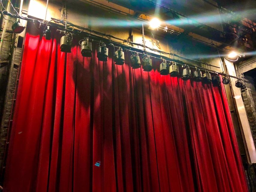 Theatre Royal Lincoln behind the curtain