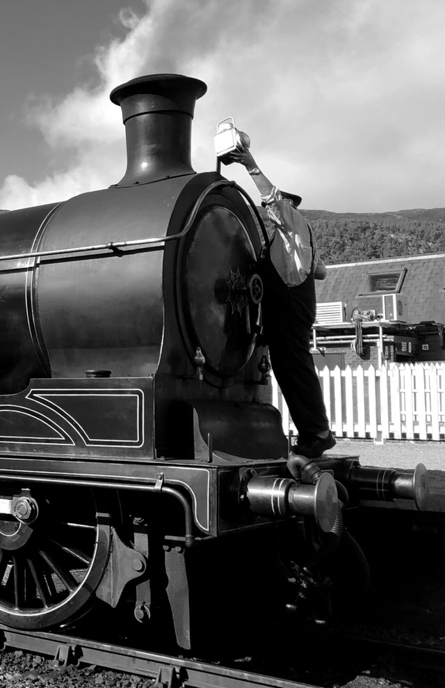 Aviemore Steam Train