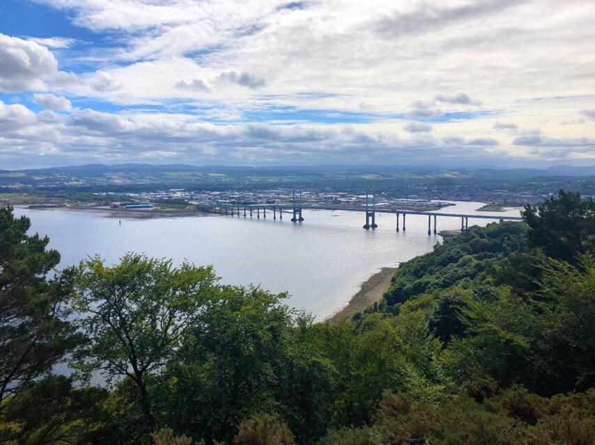 Kessock Bridge and Inverness