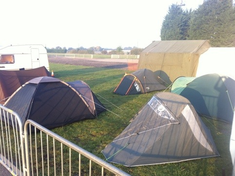 Lincoln Shortwave Club - tents